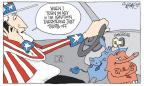 Cartoonist Signe Wilkinson  Signe Wilkinson's Editorial Cartoons 2014-04-04 republican