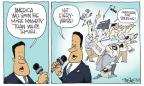 Cartoonist Signe Wilkinson  Signe Wilkinson's Editorial Cartoons 2014-05-13 journalism