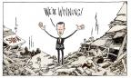Cartoonist Signe Wilkinson  Signe Wilkinson's Editorial Cartoons 2014-05-14 victory