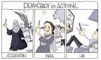 Cartoonist Signe Wilkinson  Signe Wilkinson's Editorial Cartoons 2014-05-22 plunk