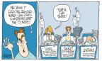 Cartoonist Signe Wilkinson  Signe Wilkinson's Editorial Cartoons 2014-06-08 heart