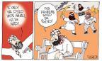 Cartoonist Signe Wilkinson  Signe Wilkinson's Editorial Cartoons 2014-07-11 global unrest