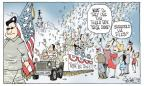 Signe Wilkinson  Signe Wilkinson's Editorial Cartoons 2014-07-17 armed forces