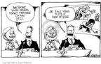 Cartoonist Signe Wilkinson  Signe Wilkinson's Editorial Cartoons 2002-01-14 first