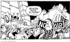 Cartoonist Signe Wilkinson  Signe Wilkinson's Editorial Cartoons 2003-02-17 French flag