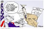 Signe Wilkinson  Signe Wilkinson's Editorial Cartoons 2005-05-12 $200