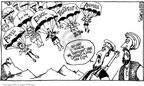 Cartoonist Signe Wilkinson  Signe Wilkinson's Editorial Cartoons 2002-08-22 weapon