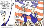 Cartoonist Signe Wilkinson  Signe Wilkinson's Editorial Cartoons 2004-10-27 2004 election