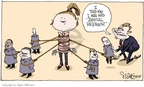 Cartoonist Signe Wilkinson  Signe Wilkinson's Editorial Cartoons 2005-11-02 supreme