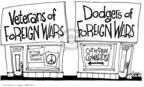 Cartoonist Signe Wilkinson  Signe Wilkinson's Editorial Cartoons 2005-11-21 Vietnam War