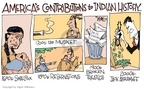 Cartoonist Signe Wilkinson  Signe Wilkinson's Editorial Cartoons 2006-01-11 congressional scandal
