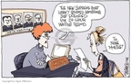 Cartoonist Signe Wilkinson  Signe Wilkinson's Editorial Cartoons 2006-02-01 supreme
