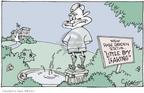 Cartoonist Signe Wilkinson  Signe Wilkinson's Editorial Cartoons 2006-04-13 little