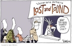 Cartoonist Signe Wilkinson  Signe Wilkinson's Editorial Cartoons 2006-05-24 million