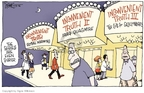 Cartoonist Signe Wilkinson  Signe Wilkinson's Editorial Cartoons 2006-05-31 movie theater