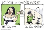 Cartoonist Signe Wilkinson  Signe Wilkinson's Editorial Cartoons 2006-07-07 North Korea