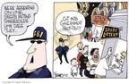 Cartoonist Signe Wilkinson  Signe Wilkinson's Editorial Cartoons 2006-07-31 sports gambling