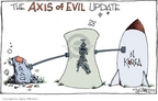 Cartoonist Signe Wilkinson  Signe Wilkinson's Editorial Cartoons 2006-10-12 North Korea