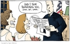 Cartoonist Signe Wilkinson  Signe Wilkinson's Editorial Cartoons 2006-10-27 supreme
