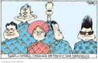 Cartoonist Signe Wilkinson  Signe Wilkinson's Editorial Cartoons 2006-11-21 Kim Il-Sung