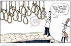 Signe Wilkinson  Signe Wilkinson's Editorial Cartoons 2007-01-17 capital punishment