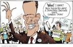 Cartoonist Signe Wilkinson  Signe Wilkinson's Editorial Cartoons 2007-01-23 2004