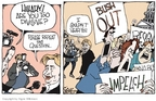 Cartoonist Signe Wilkinson  Signe Wilkinson's Editorial Cartoons 2007-01-24 division