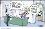Cartoonist Signe Wilkinson  Signe Wilkinson's Editorial Cartoons 2007-03-29 another