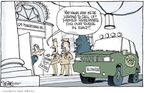 Cartoonist Signe Wilkinson  Signe Wilkinson's Editorial Cartoons 2007-05-10 1600 Pennsylvania Avenue