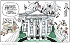 Cartoonist Signe Wilkinson  Signe Wilkinson's Editorial Cartoons 2007-07-13 fourth amendment