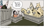 Cartoonist Signe Wilkinson  Signe Wilkinson's Editorial Cartoons 2007-07-20 animal