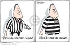 Cartoonist Signe Wilkinson  Signe Wilkinson's Editorial Cartoons 2007-08-17 uniform
