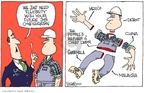 Cartoonist Signe Wilkinson  Signe Wilkinson's Editorial Cartoons 2007-09-27 flexibility