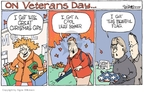 Cartoonist Signe Wilkinson  Signe Wilkinson's Editorial Cartoons 2007-11-13 gardening