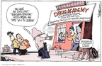 Cartoonist Signe Wilkinson  Signe Wilkinson's Editorial Cartoons 2007-11-16 drug