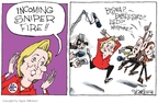 Cartoonist Signe Wilkinson  Signe Wilkinson's Editorial Cartoons 2008-03-27 2008 primary