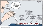 Cartoonist Signe Wilkinson  Signe Wilkinson's Editorial Cartoons 2008-05-14 drug