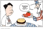 Cartoonist Signe Wilkinson  Signe Wilkinson's Editorial Cartoons 2008-06-12 South Korea