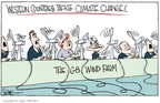 Cartoonist Signe Wilkinson  Signe Wilkinson's Editorial Cartoons 2008-07-11 Russia and climate change