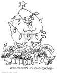 Cartoonist Signe Wilkinson  Signe Wilkinson's Editorial Cartoons 2002-12-23 2003