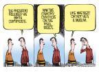 Cartoonist Mike Smith  Mike Smith's Editorial Cartoons 2011-04-28 prejudice