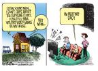 Cartoonist Mike Smith  Mike Smith's Editorial Cartoons 2011-06-29 dad
