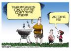 Cartoonist Mike Smith  Mike Smith's Editorial Cartoons 2011-07-03 dad
