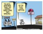 Cartoonist Mike Smith  Mike Smith's Editorial Cartoons 2011-12-17 discrimination