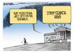 Cartoonist Mike Smith  Mike Smith's Editorial Cartoons 2012-04-05 legal