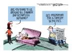 Cartoonist Mike Smith  Mike Smith's Editorial Cartoons 2012-07-08 political career