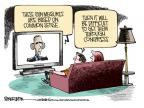Cartoonist Mike Smith  Mike Smith's Editorial Cartoons 2013-01-17 arms