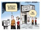 Cartoonist Mike Smith  Mike Smith's Editorial Cartoons 2013-02-15 arms