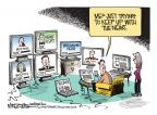 Cartoonist Mike Smith  Mike Smith's Editorial Cartoons 2013-04-21 Facebook