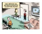 Cartoonist Mike Smith  Mike Smith's Editorial Cartoons 2013-05-10 drug